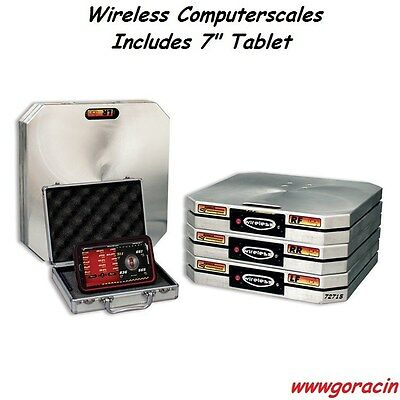 """Longacre Racing Products Wireless XLi Computerscales With 7""""Tablet,Scales,Weight"""