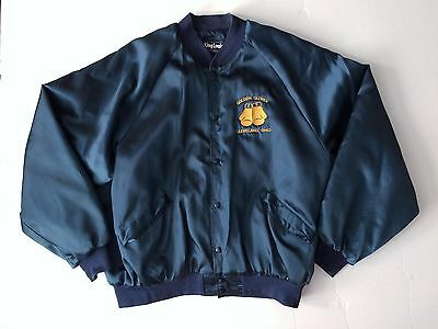 Cleveland Ohio GOLDEN GLOVES Boxing Satin Jacket Coat King Louie USA 3XL