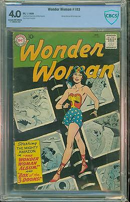 Wonder Woman #103 [1959] Certified[4.0] Classic Cover