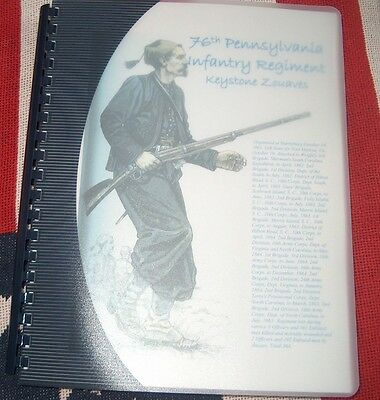 Civil War History of the 76th Pennsylvania Infantry Regiment