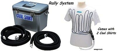COOLSHIRT 13 or 19 QT Rally System,Includes 2 White Cool Water Shirts,SCCA - -