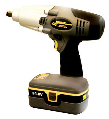 Longacre 24 Volt Cordless Pit Impact Gun,Includes Battery/Charger,Hoosier,SCCA~