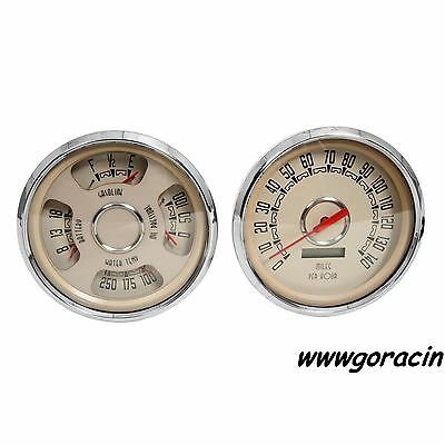 New Vintage USA 1947-1953 Chevrolet Truck Direct Fit Woodward Gauge Package,GMC-