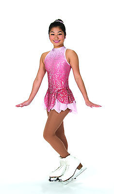 New Jerrys Competition Skating Dress 78 Kissed By Mist Pink Made on Order