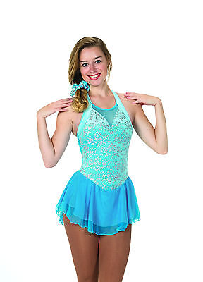 New Jerrys Competition Skating Dress 94 Coventry Sky Blue Made on Order