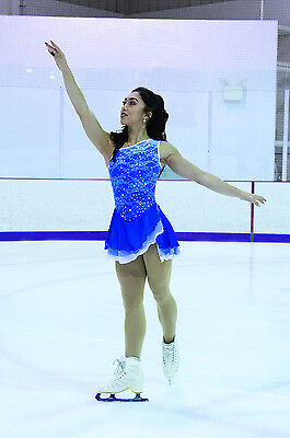 New Jerrys Competition Skating Dress 81 Splash Of Lace Made on Order