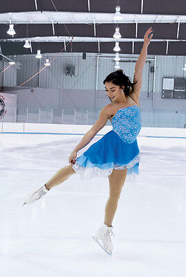 New Jerrys Ice Dance Figure Skating Dress 131 Ocean Opal  Made on Order