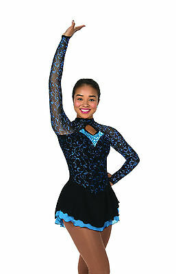 New Jerrys Competition Skating Dress 97 Sheer Delight Made on Order