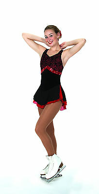 New Jerrys Competition Skating Dress 114 Costa de Sol Made on Order