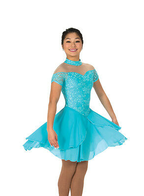 New Jerrys Ice Dance Figure Skating Dress 130 Tiffany Lace  Made on Order