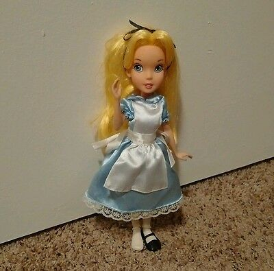 """Disney Store Alice in Wonderland 9"""" Our Family Tree Doll Loose"""