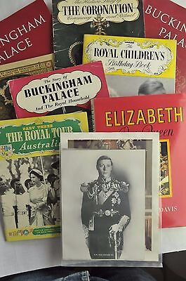 Collection of Royal Books and Ephemera