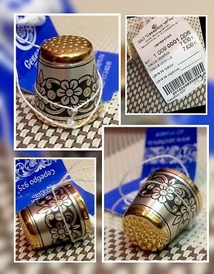 Silver russian thimle