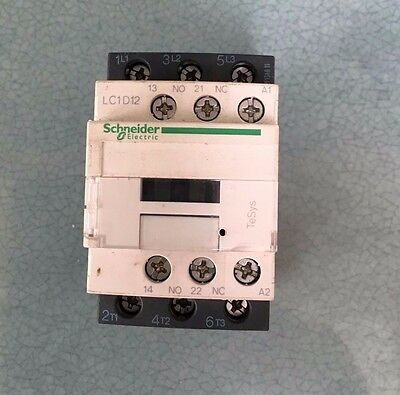 Schneider TESys LCD12 3 pole 24Vac  Contactor