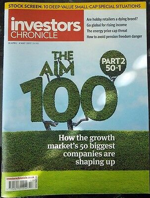 The Aim 100, Part 2 50-1, Investors Chronicle, 28 April - 4 May 2017
