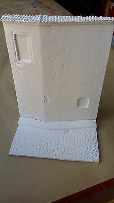 WWII French street section for diorama 1/35 accessories ruins