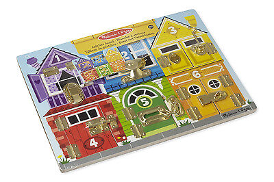 Melissa and Doug Wooden Latches Board - New