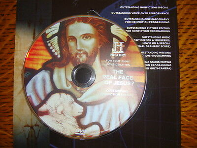 THE REAL FACE OF JESUS ? EMMY DVD HISTORY CHANNEL Shroud of Turin 2hour