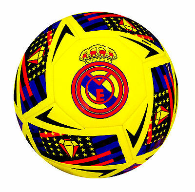 Real Madrid Football Official Match ball FIFA Specified Size 5, 4, 3 - Spedster