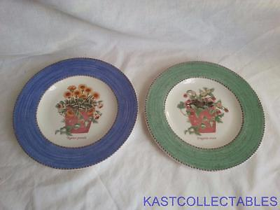 Wedgwood Sarah's Garden 2 x Salad Plates -  Free UK Delivery