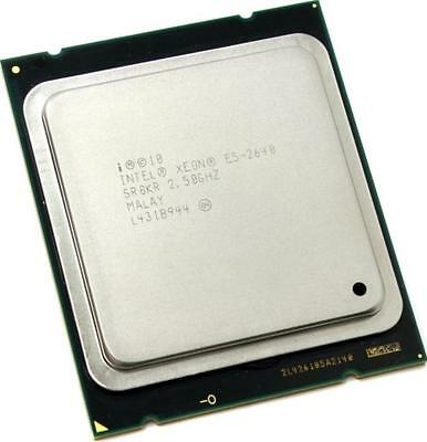 Intel CPU Xeon E5-2640 sr0kr a 6 Core 2,5 Ghz 15MB Socket 2011