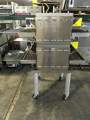 2014 Middleby Marshall Double Stack Electric Conveyor Pizza Oven Single Phase!