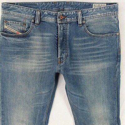 diesel larkee relaxed jeans hose used blue straight w36. Black Bedroom Furniture Sets. Home Design Ideas