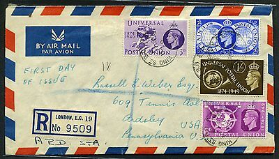 LOT OF 9 British First Day of Issue Covers