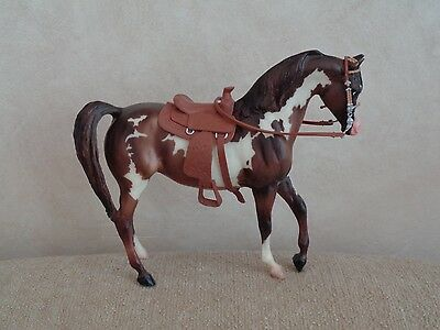 "Breyer Molding Company Toy Model Horse With Saddle Bridle 6.5""t"