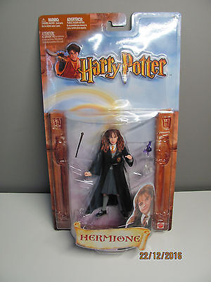 VHTF Harry Potter Hermione Granger Chamber of Secrets Action Figure NEW SEALED