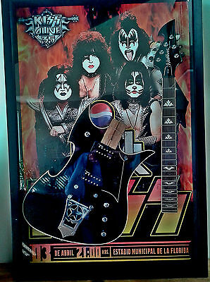 KISS Paul Stanley Stage Played and Smashed Guitar