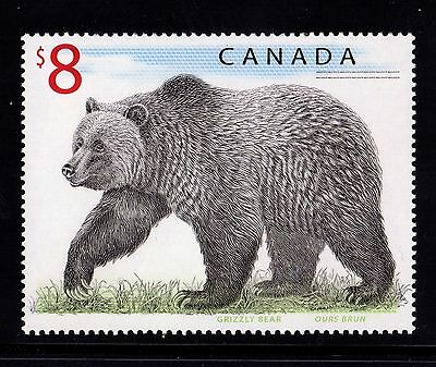 Canadian No 1694,  Wildlife: Grizzly Bear, Mint Nh