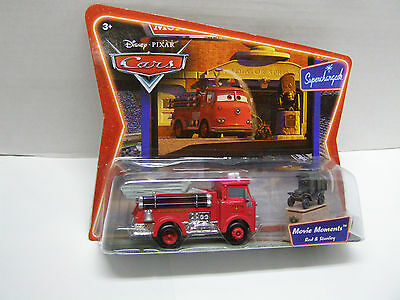 Disney Pixar Cars Movie Moments Red & Stanley Supercharged Rare