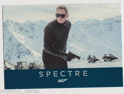 James Bond Archives 2016 Spectre Edition Trading Cards Base Set