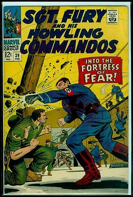 Marvel Comics SGT. FURY And His HOWLING COMMANDOS #39 VG/FN 5.0