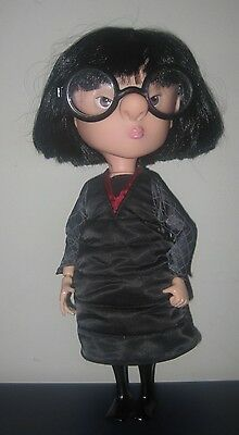 Incredibles Interactive Talking Edna Doll Figure Rare Pixar Disney Thinkway Toys