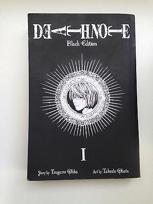 Death Note Black Edition Book 1 Manga