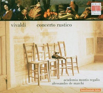 Concerto Rustico Audio CD