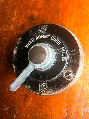 Vintage French Dashboard Ignition Light Magneto Switch Cyclecar Special