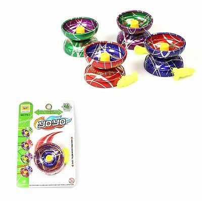Childrens High Precision ALLOY METAL YOYO -Ball Clutch Yo Yo -Hours of Fun