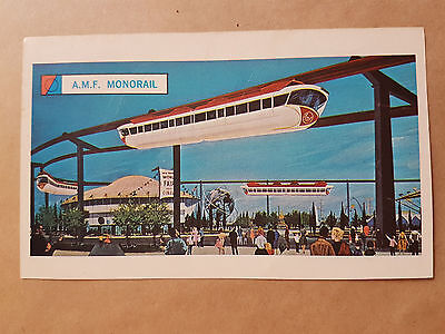 World's Fair AMF Monorail Cereal Card