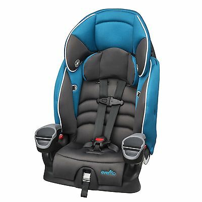 Evenflo Maestro Booster Car Seat Thunder Black/Blue