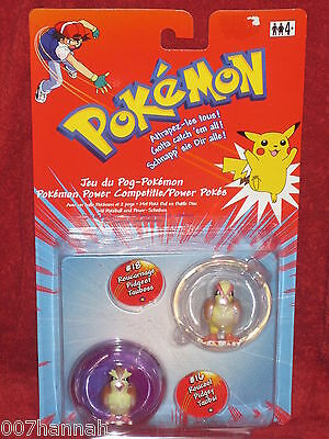 2 Pokemon Figuren Tauboss+Taubsi/Pokeball/Tomy/Pidgeot+Pidgey/figure/Neu