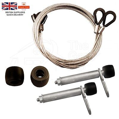 GARADOR Rollers Mk3c 96mm Cables Spindles Garage Door Repair Kit Wheels Spares