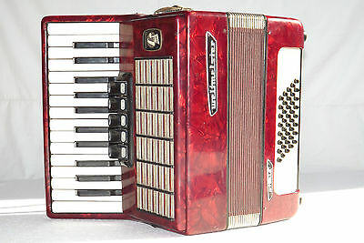 Piano accordion akkordeon WELTMEISTER STELLA 40  bass