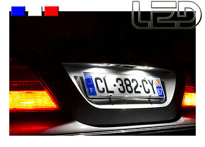 MERCEDES Classe E W211 2 Ampoules LED Blanc Plaque immatriculation  Canbus