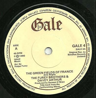 The Furey Bothers & Davey Arthur - The Green Fields Of France - Gale 1980 -Irish