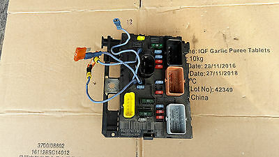 Peugeot Citroen Fuse Box Under Bonnet 9659741780 Bsm-L03
