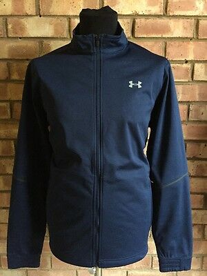 Under Armour Golf 16 Storm Cold Gear Elemental Full Zip Acad Blue Large 1281273