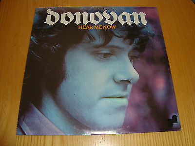 Donovan - Hear Me Now - Lp 1971 Janus Records Usa Jls 3025 *sealed New